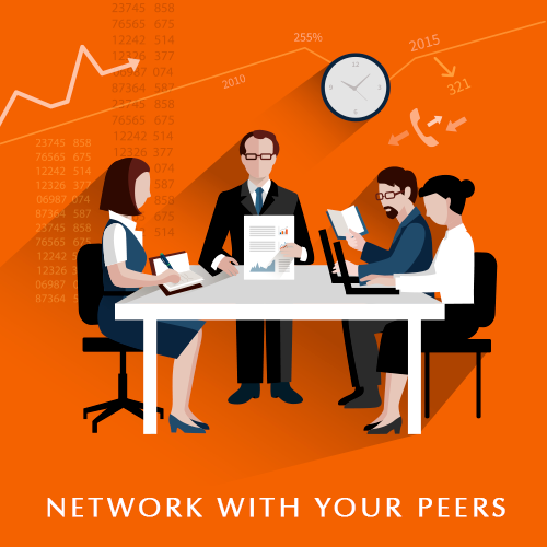 Network with your Peers
